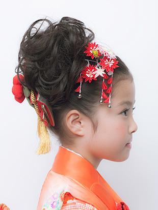 髪型 七五三 髪型 アレンジ : kazaruya.com